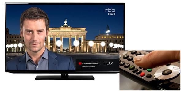 berlin wall smart TV
